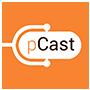 pCast logo